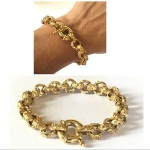 ST JOHN Gold Link Gorgeous Bracelet
